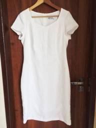 Vestido Branco-Grátis bolsa