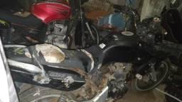Vendo motos do leilão do Dran - 2011