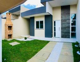 JP casa nova com 3 quartos 2 banheiro com fino acabamento e arquitetura moderna