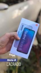 Xiaomi note 8 64gb Branco lacrado com garantia