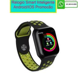 Relógio Smart Whatch Touch F8 Sport Fitness Android E Ios Celular Bluetooth