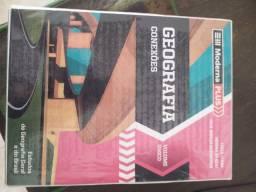 Livro Moderna PLUS Literatura, Geografia, História, Gramática TD completo R$50,00 cada