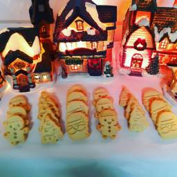 Presentes com Biscoitos de natal