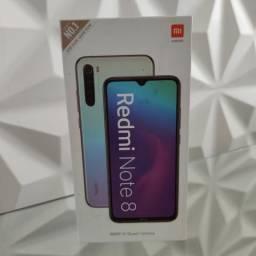 Redmi Note 8 da Xiaomi. 64 GIGAS de memória.4 de RAM. Novo lacrado