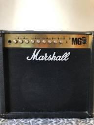 Amplificador Marshall Mg 50fx, Com Foot E Manual, Muito Novo comprar usado  Belo Horizonte