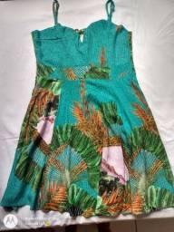 Vestido de tecido