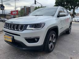 Jeep Compass 2017 Longitude + 18.000km + unico dono =0km ac trocaa