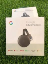 Chromecast 3ª geração ORIGINAL ENTREGA GRÁTIS