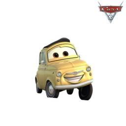 Luigi Filme Carros Disney Mattel Miniatura Mcqueen 1:55