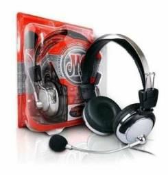 Título do anúncio: Fone para Pc C/ Microfone Kt-301 - Rf Informatica