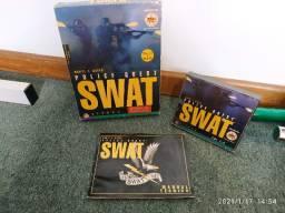 Raridade! Jogo Police Quest Swat 4 Discos Brasoft Para Pc