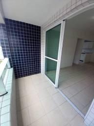 Título do anúncio: FM 100m do Mar, Apartamento 42m², varanda, 01 quarto com armários, andar alto.