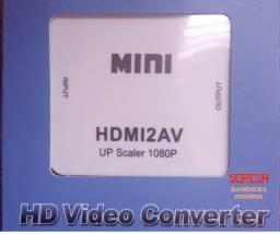 Título do anúncio: Conversor Hdmi Para AV - 3Rca