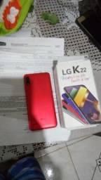 Título do anúncio:  Lg k22 zero