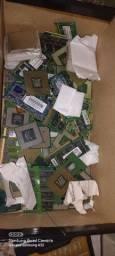 Título do anúncio: Lote de processador e memórias para notebook