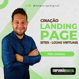 Criação de Site, Landing Pages e Loja Virtual