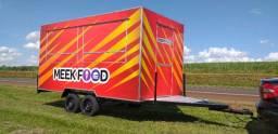 Trailer 4x2m Food Truck Top de Linha Direto do Fabricante Especialista