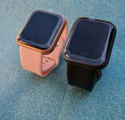 Maior custo benefício com garantia! - Smartwatch relógio inteligente de qualidade!