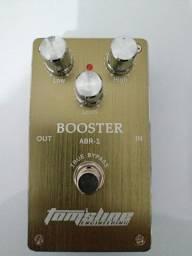 Título do anúncio: Pedal booster Tom's Line ABR-1