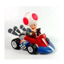Título do anúncio: Carrinho Mario Kart Toad Premium Decoração Gamer Presente Dia das Crianças