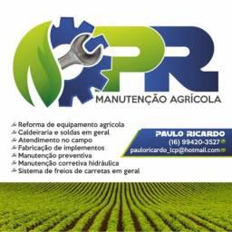 Serviços manutenção agrícola
