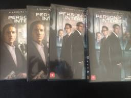 DVD Person Of Interest - 1 e 2 Temporada