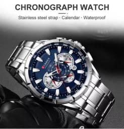 Título do anúncio: Relógio masculino original Marca Curren Todo funcional.