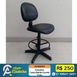 Título do anúncio: Cadeiras Caixa para Balcão Recepção Giratorias