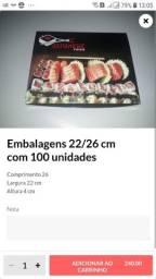 Título do anúncio: 100 embalagem