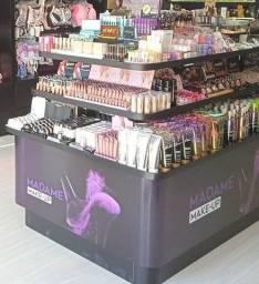 Título do anúncio: Maquiagem, Cosméticos, Ilha completa, Móveis para loja...