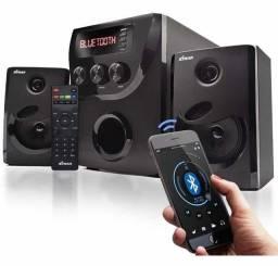Título do anúncio: Caixa de som 1000W (controle remoto + cabo de conexão)