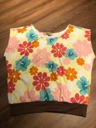 Título do anúncio: Blusa Floral Fresquinha