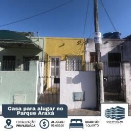 Título do anúncio: Casa com 1 dormitório para alugar, 40 m² por R$ 650,00/mês - Parque Araxá - Fortaleza/CE