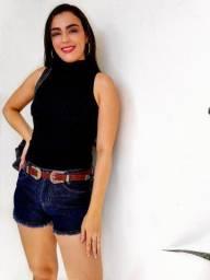 Título do anúncio: Blusa blogueirinha gola alta Envio todo Brasil