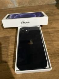 Título do anúncio: Iphone 12 black 64gb IMPECÁVEL