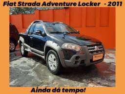 Financio! Fiat Strada Adventure Locker CE 1.8 - 2011 - Não Perca!