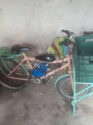 Vendo bicicleta de carga com motor