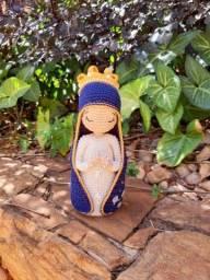 Título do anúncio: Nossa Senhora em Amigurumi