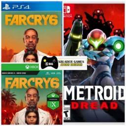 Título do anúncio: Far Cry 6 e Metroid Dread