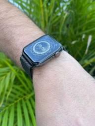 Título do anúncio: Apple watch serie 6 44mm gps + celullar INOX