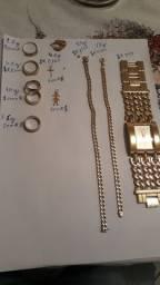 Tenho várias peças de ouro