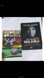 Combo | Livro 1984 - George Orwell e Do Mil ao Milhão - Thiago Nigro (estado de novo)