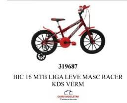 Bicicleta aro 16 R$ 559,00