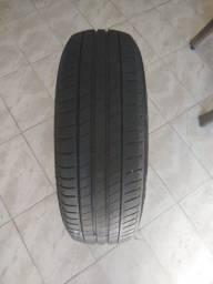 Título do anúncio: Pneu Michelin 195/65 R15 semi novo
