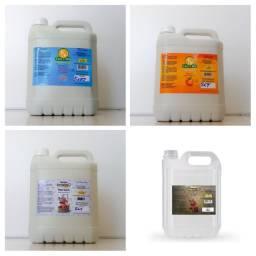 Kit c/ 4 galoes shampoo profissional pet