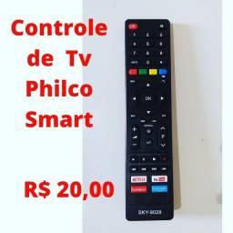 Controle remoto Smart Tv Philco