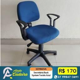 Título do anúncio: Cadeiras de escritorio em tecido barata