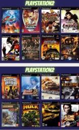 Promoção - 8 Jogos de PS2