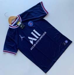 Título do anúncio: Camisa PSG em DRYFIT 1° Linha Nacional