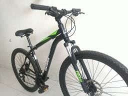 Bicicleta pra voce aro 29 barata shimano freio a disco
